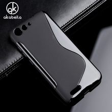Akabeila Мягкий силиконовый чехол для ZTE Axon 7 mini лезвие X7 V6 D6 zmax Z955L Z958 Z Max 2 ZMAX2 casephone сумка для Axon 7 mini X7 V6