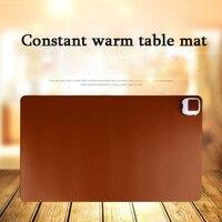 Зимний теплый офисный коврик для клавиатуры ноутбука стол для компьютера; стол для игровых мышей обогреватель подогреваемый коврик из иску...