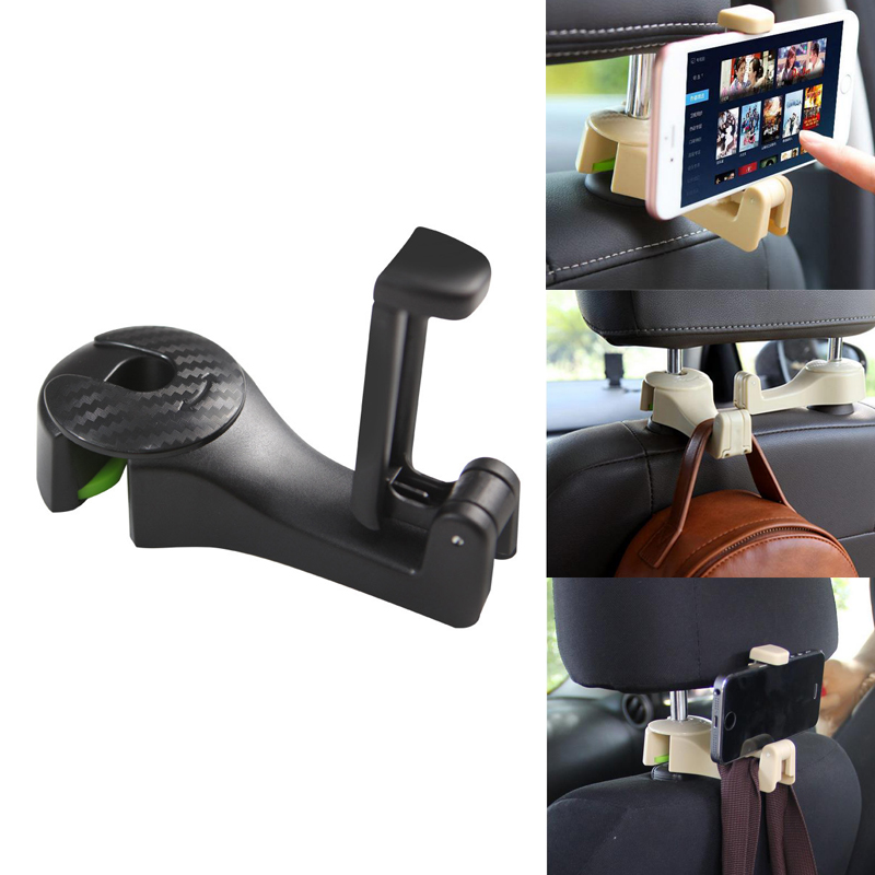 Car Seat Back Hook Phone Holder Accessories For Peugeot 307 308 407 206 207 3008 406 208 2008 508 408 306 301 106 107 607 4008