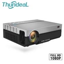 ThundeaL Full HD проектор T26K родной 1080 P 5500 люмен видео светодио дный ЖК-дисплей дома Кино Театр HDMI, VGA, USB ТВ 3D вариант T26 проектор