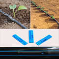 גן טפטוף קלטת השקיה מערכת שטוח לייעל שתיין צינור 16*0.2mm עובי 30 cm/15 cm חלל 30/40/50 מטרים חגורה