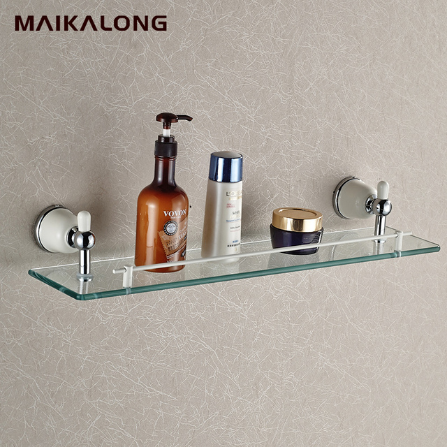 White Porcelain Modern Bathroom Accessories Products Chrome Finished ...