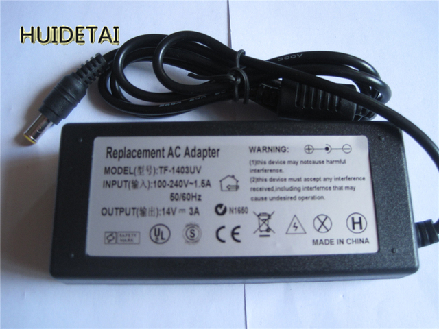14V 3A AC Adapter Power For SAMSUNG BX2250 BX2250V BX2335 S23A300B LCD Monitor
