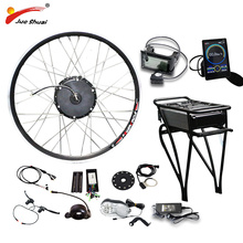 цена на E BIKE 48V 500W Motor Wheel Electric Bike Kit 48V 14AH Battery Electric Bicycle Conversion Kit for 26 700C 28 Front Wheel Motor