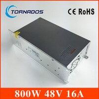 Power Supply DC 48V 16A 800w Led Driver Transformer AC110V 220V to DC48V Power Adapter for strip lamp CNC CCTV Stepper Motor