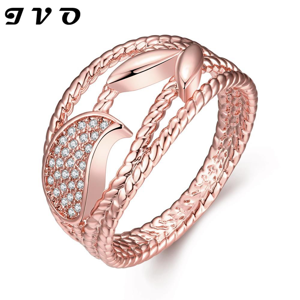 new fashion women brand jewelry high quality rose gold color ...