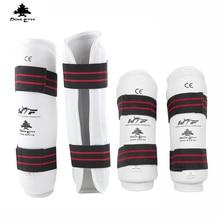 2016 HOT SALE 4pcs Taekwondo protector WTF caneleira shin guard taekwondo arm guard leg guards taekwondo-protector high boxing