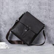 купить BAQI Brand Men Handbags Shoulder Bag Genuine Leather Cowhide Men Crossbody Messenger Bag High Quality 2019 Fashion Business Bag по цене 2507.55 рублей