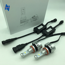 2pcs/set 12000LM C REEXHP50 72W 8G car LED headlight lamp kit H4 H7 H11 H8 H9 9005 9006 9012 H16 auto led headlamp light bulb