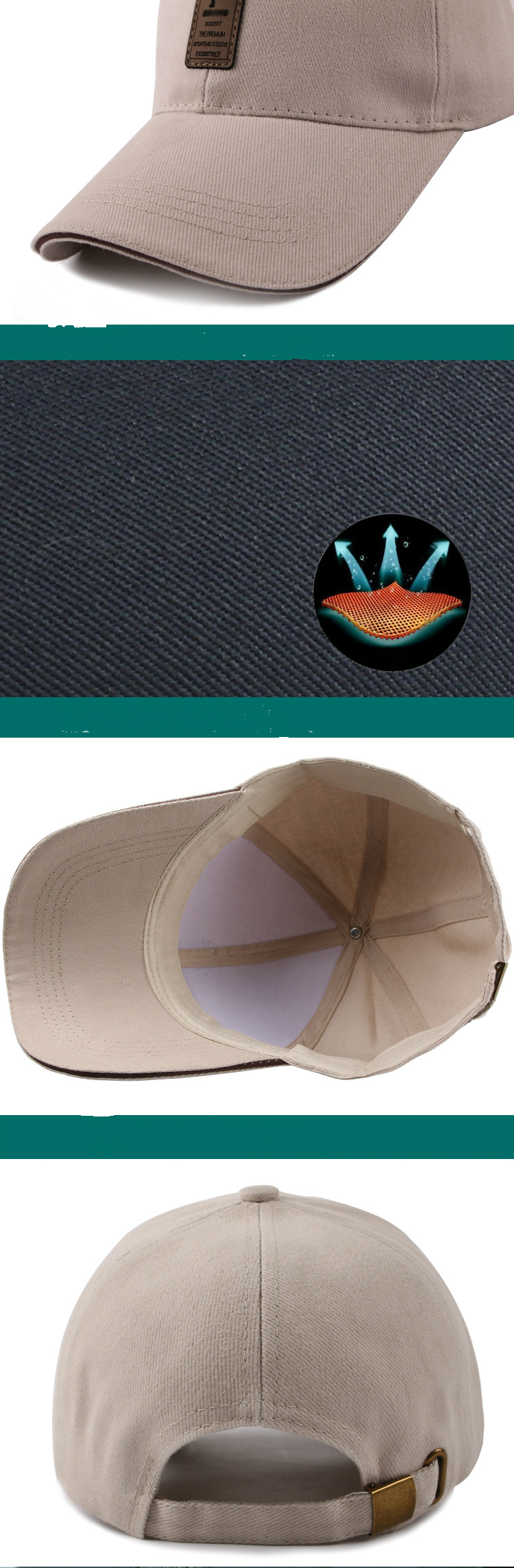 7 Colors Golf Hats for Men and Women 23