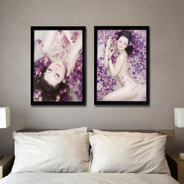 Sauna Beauty Salon Decoration Painting Beautiful Posters Hotel Single Large Paintings Bedroom Wall Hd0306