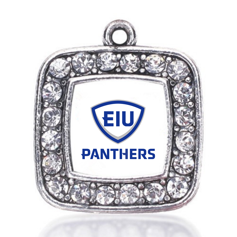 Eastern Illinois Panthers CHARM ANTIQUE SILVER PLATED JEWELRY