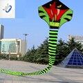 30 m Cauda Pipa Cobra Cobra Pipa Com Linha de Pipa Esportes Diversão Ao Ar Livre brinquedo Fácil de Voar