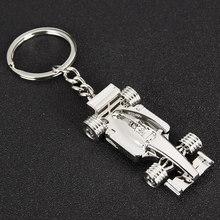 Metal 3D car model keychain simulation F1 racing key ring for hamann BMW Audi keyring men women jewelry sports car pendant gifts рамка для номера sw bmw hamann