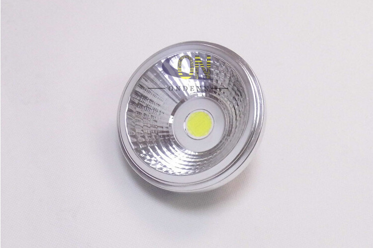 ar111 cob led spotlight bulb angle dimmable 220v g53 highclass aluminum alloy 15w replace 100w halogen for commercial