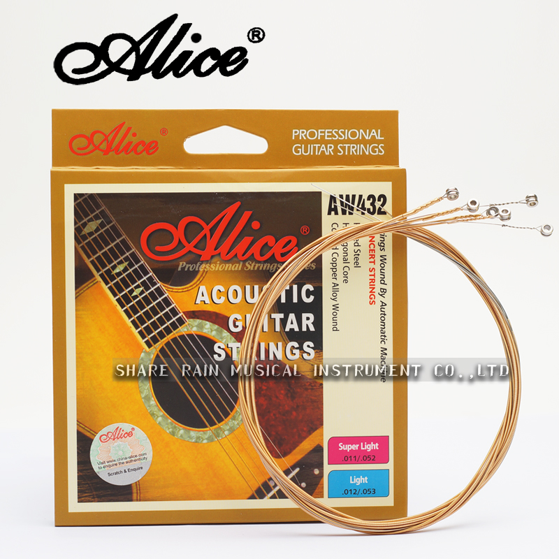 alice 432 folk guitar string imported steel core the guitar strings of set acoustic guitar. Black Bedroom Furniture Sets. Home Design Ideas