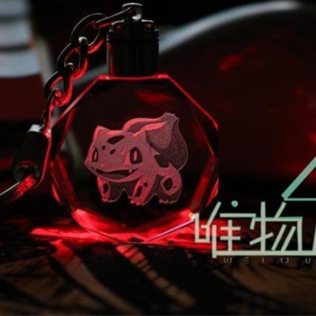 Светодиодный брелок Пикачу и покемоны в ассортименте 4