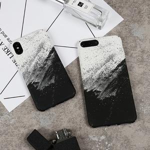Image 2 - Чехол для iPhone X, чехол для телефона с абстрактным граффити для iPhone X, 10, iPhone 6, 6S, 8, 7 Plus, модный жесткий чехол, чехлы для мужчин и женщин