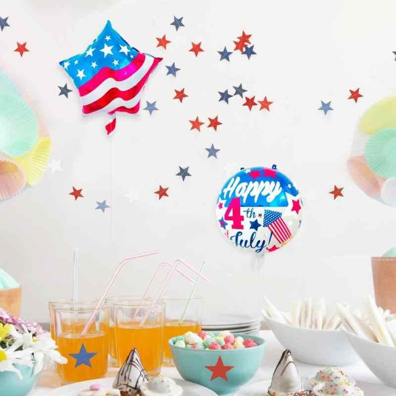 שמח עצמאות יום דגל בלונים לסכל בלוני מסיבת חג קישוט אירוסין מסיבת דקור Globo ילדים כדור ספקי