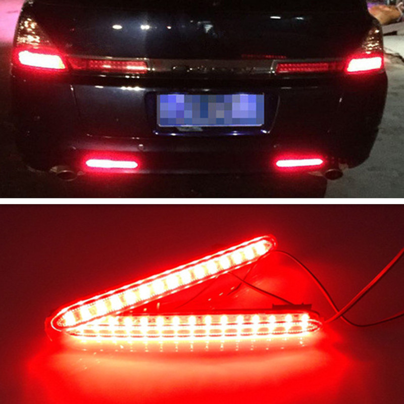 High Quality For Honda Odyssey 2007 Car Reflector LED Back Tail Rear Bumper Light Brake font