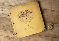 Hearts Wedding Guest Book Wedding Keepsake Gift Anniversary Memory Book Photo Album Scrapbook