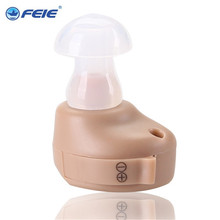 FEIE deafness headset High Auality Sound Amplifier Micro Ear Hearing Aid S-212 Drop Shipping