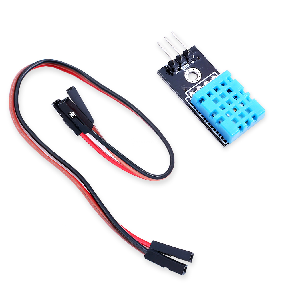 1PCS New DHT11 Temperature And Relative Humidity Sensor Module For Arduino dht11 temperature relative humidity sensor module for arduino light blue