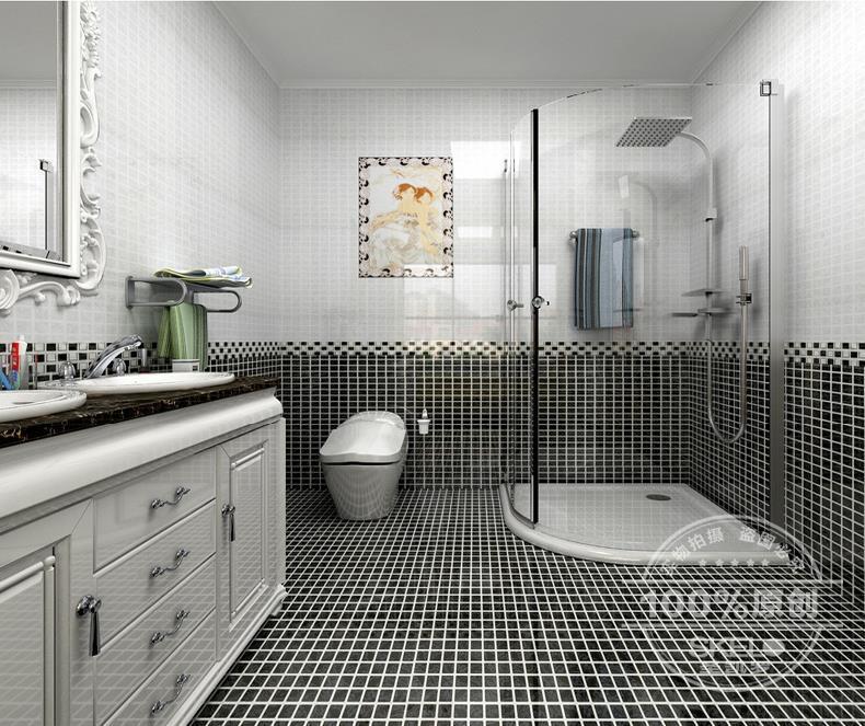 2016 Bathroom Toilet Full Set Of Ceramic Tile Collocation Accents