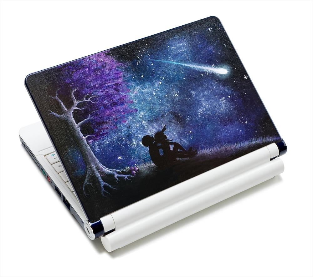 Starry Sky DIY Osobowość Naklejka naklejka na laptopa 13 15 15,6 - Akcesoria do laptopów - Zdjęcie 4