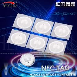 10 teile/los NTAG213 Ntag215 Ntag216 NFC TAG Aufkleber Schlüssel Tags llaveros llavero Token Patrol Universal Label RFID Tag