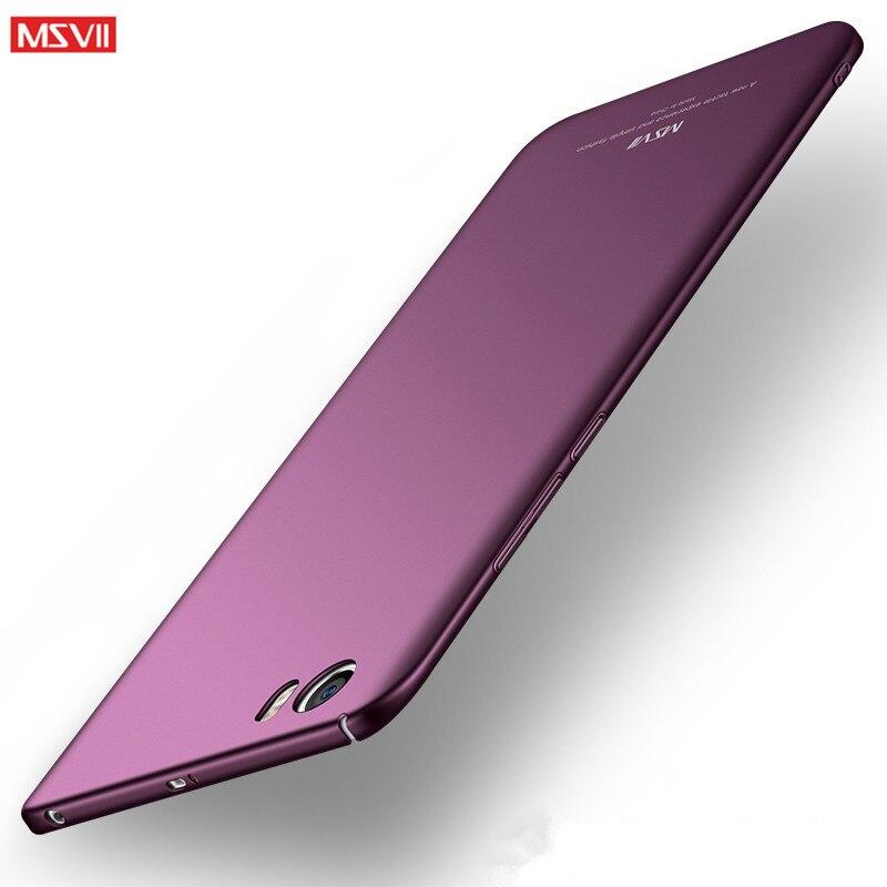 MSVII Luxury case For xiaomi mi5 case Xaomi Mi5S Case 360 Full Protection Hard Frosted PC Back Cover Xiomi Mi 5 5S S Pro prime