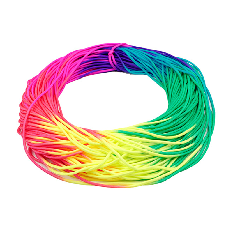 YOUGLE Colorful Rainbow Cord Parachute Cord Paracord Tie Dye Style Type III 7 Strand 550 Paracord 5m 10m 20m