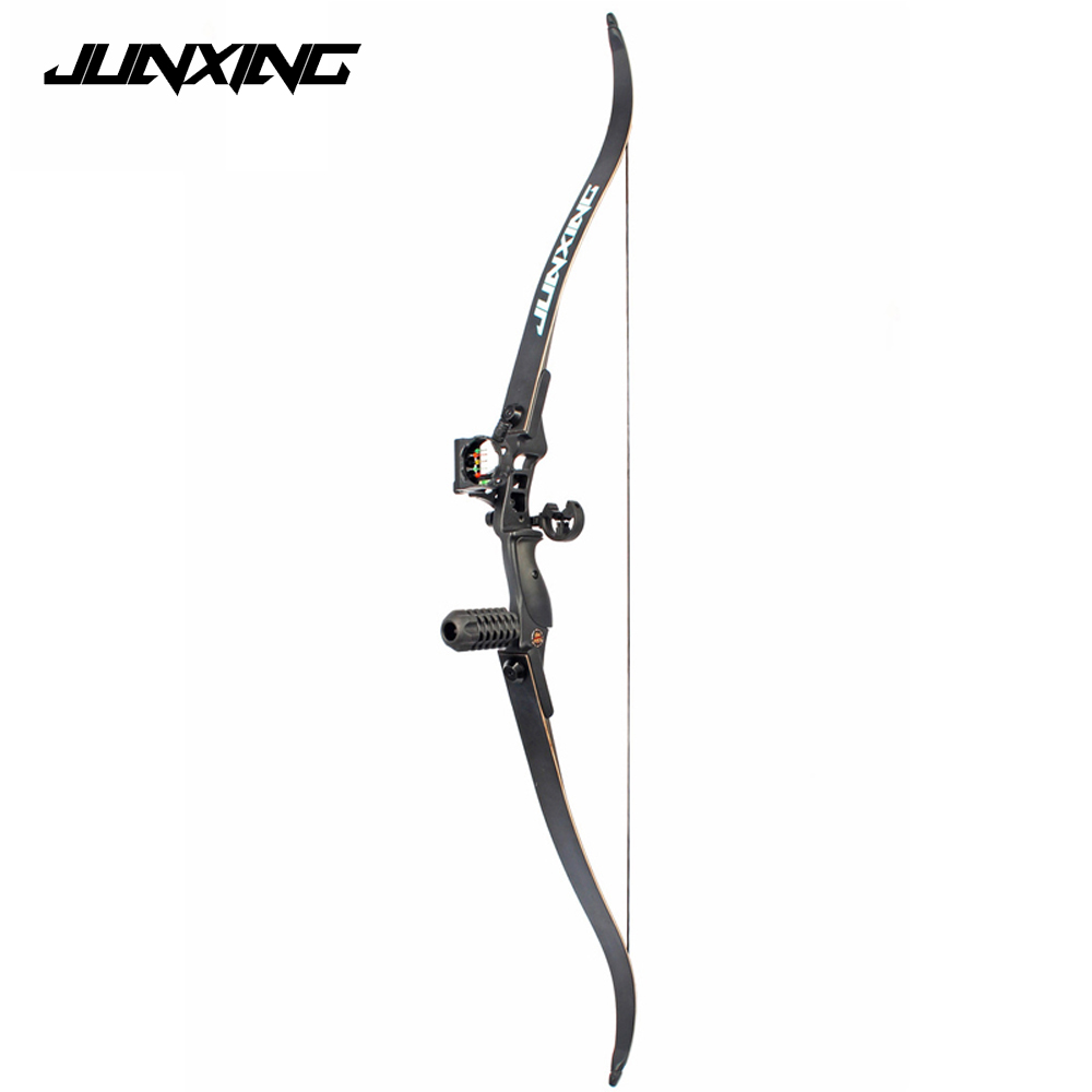30-50 LBS 54 inch Recurve Bow with 17 inch Length Riser American Hunting Bow for Archery Outdoor Sport Hunting Practice 53 inch recurve bow 30 40 lbs american hunting bow for archery outdoor sport hunting practice longbow traditional chinese