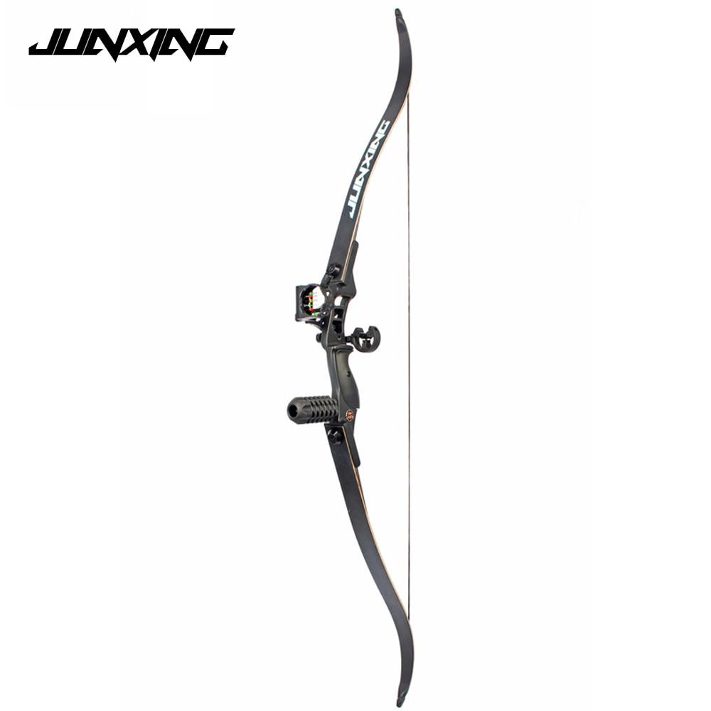 30-50 LBS 54 pouces Arc Classique avec 17 pouces Longueur Riser Américain arc de chasse pour Tir À L'arc Sport En Plein Air Chasse pratique