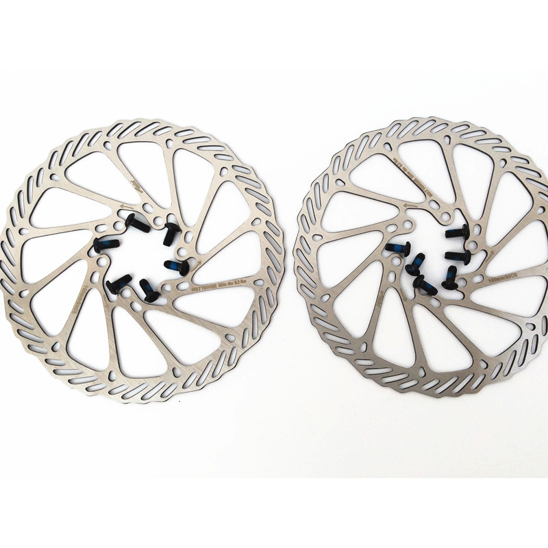 Bicycle MTB Road Folding Bike Brake Discs 160//180mm 6 Holes disc Brake Discs US