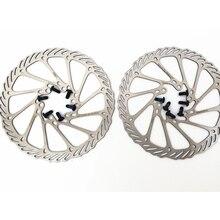 Hydraulic Mechnical Mountain Bicycle Disc Brake Rotor 6 Bolts 160/180MM MTB Road Bike Brake Disc Rotors цена