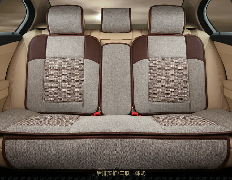Automotive Linen Cushion Set Car Seat Covers Mat Pu Pad For ROVER 75 MG TF 3 6 7 5 Maserati Coupe Spyder Quattroporte Maybach In Automobiles