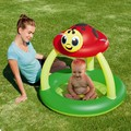 Bestway подлинная 52181 леди леди купола солнце сарай надувной бассейн детская ванночка мяч бассейн b32