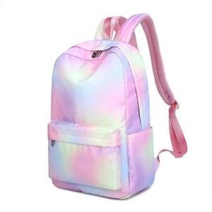 Backpack Vintage College Schoo