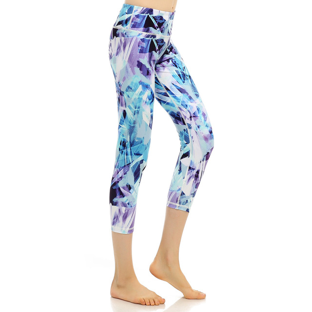 63986428172 Women s Yoga Pants Slimming Fitness Leggings Printed Hidden Pocket High  Waist Push Up Plus Size Active