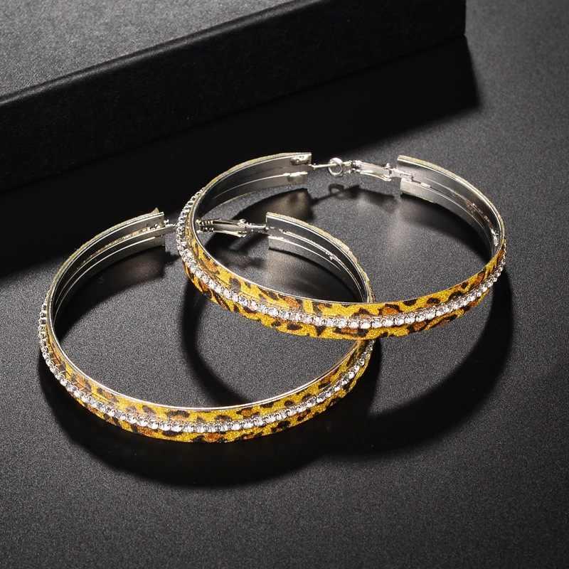 Серьги-кольца для женщин, сплавные кольца, Модные женские ювелирные изделия, большой круг, золото, серебро, широкий круглый, Дикие аксессуары, оптовая продажа 297