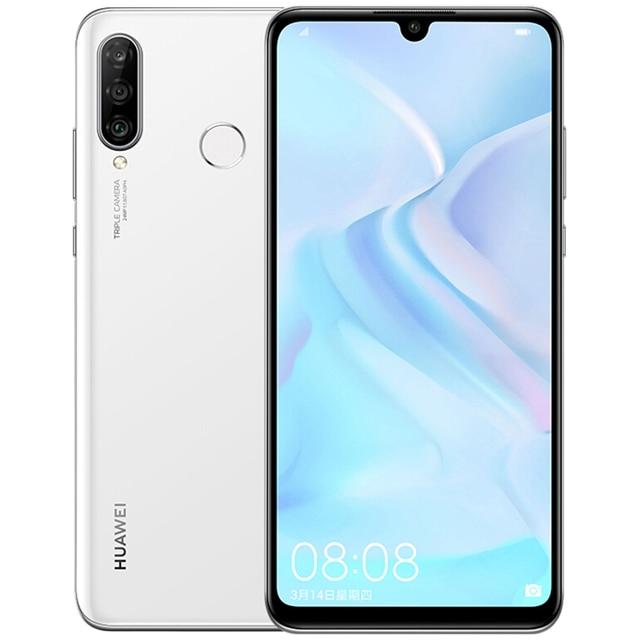 HUAWEI P30 Lite Nova 4e Smartphone Kirin 710 Octa Core Android 9.0 FingerPrint ID 3340 mAh 6.15 inch 4*Cameras Cell Phone 2