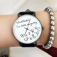 New 2017 Popular Women Casual Watch Ladies Leather Luxury Watches Woman Sport Quartz Wristwatch Simple Female
