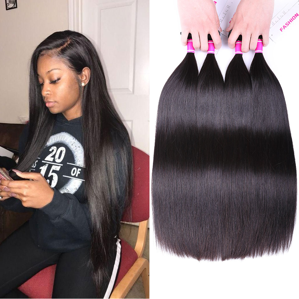 Unprocessed Virgin Hair Peruvian Bundles Mink Aliexpress Human Hair Weave Peruvian Silky Straight Hair 4 Bundles