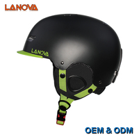 Lanova Kids Youth Adult Snow Ski Snowboard Skate Helmet With Fleece Liner