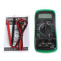 Ручной счетчик с измерением температуры ЖК-цифровой мультиметр тестер XL830L без батареи 828 Акция высокое качество