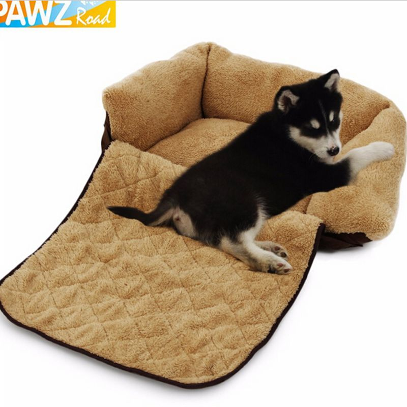 pets furniture. Pet Dog Cat Mutifunctional Luxury Sofa Warm Soft Mat Bed For Puppy Kitten Cotton Cushion Pad Cozy Kennel House Furniture Pets