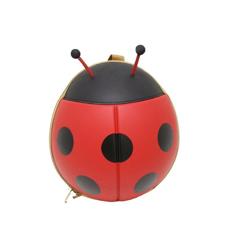 Yesello Nylon Ladybug Kids Backpacks Waterproof Cartoon backpack Beetle Kindergarten bags grouchy ladybug pb illustr