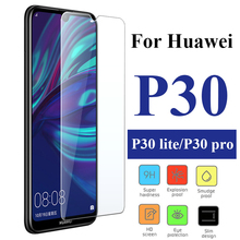 Glass on Huawei P30 Pro Tempered For P20 Lite Screen Protector Transparent Protective