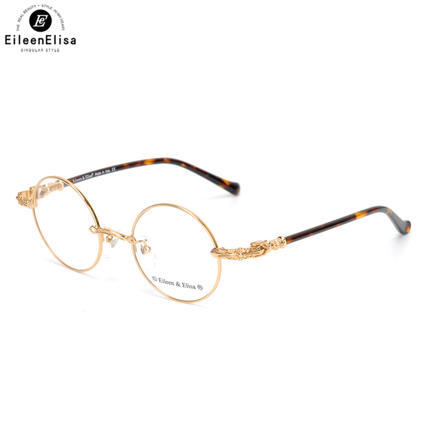EE 2018 New Arrival Gold Glasses Frame Round Metal Frame Glasses ...